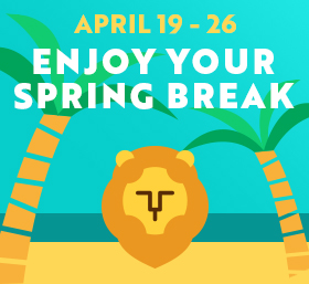 Spring Break: April 19-26